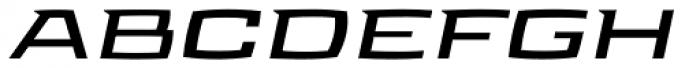 Aviano Future Bold Fast Font UPPERCASE