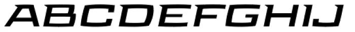 Aviano Future Bold Fast Font LOWERCASE
