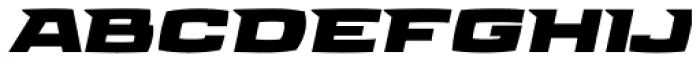 Aviano Future Heavy Fast Font LOWERCASE