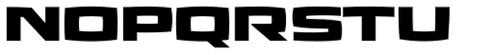 Aviano Future Heavy Font UPPERCASE