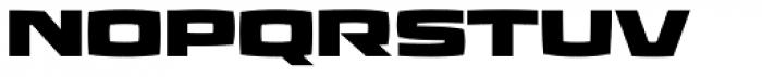 Aviano Future Heavy Font LOWERCASE