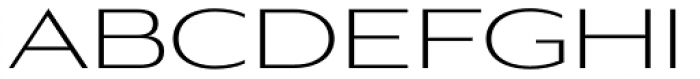 Aviano Gothic Light Font UPPERCASE