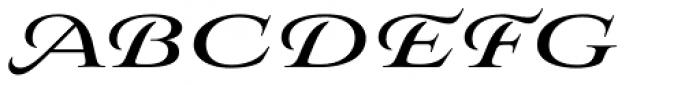 Aviano Royale Black Font UPPERCASE