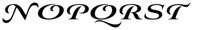Aviano Royale Heavy Font UPPERCASE
