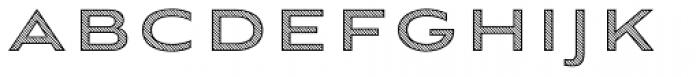 Aviano Sans Layers Diagonal Font LOWERCASE