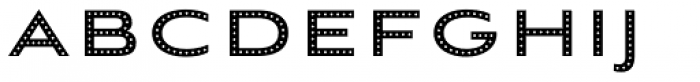 Aviano Sans Layers Dots Reversed Font UPPERCASE