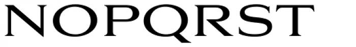 Aviano Serif Regular Font UPPERCASE
