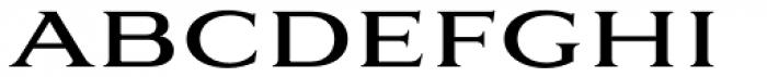 Aviano Serif Regular Font LOWERCASE