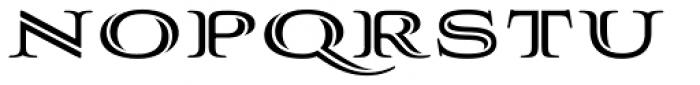 Aviano Silk Black Font LOWERCASE
