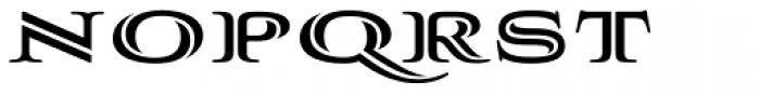 Aviano Silk Heavy Font LOWERCASE
