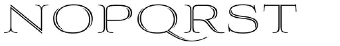Aviano Silk Thin Font UPPERCASE