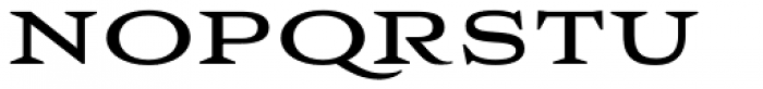 Aviano Wedge Bold Font LOWERCASE
