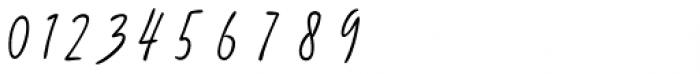 Avital Script Font OTHER CHARS