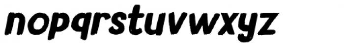 Avontuur Italic Font LOWERCASE