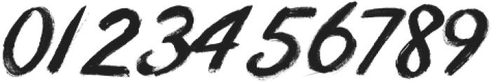 Awaken-Brush ttf (400) Font OTHER CHARS