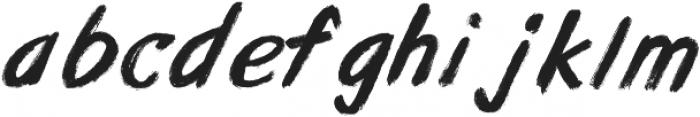 Awaken-Brush ttf (400) Font LOWERCASE
