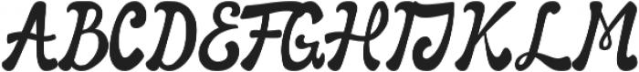 Awaluna otf (400) Font UPPERCASE