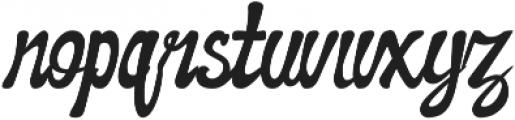 Awaluna otf (400) Font LOWERCASE