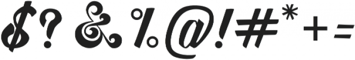 Awesome Display Typefaces otf (400) Font OTHER CHARS