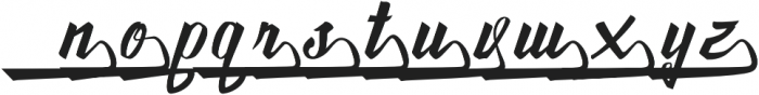 Awesome Lower Swash otf (400) Font LOWERCASE