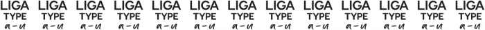 Awesomespill Liga otf (400) Font UPPERCASE