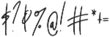 Awestruck Signature Font otf (400) Font OTHER CHARS