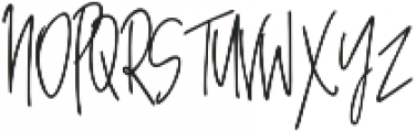 Awestruck Signature Font otf (400) Font UPPERCASE