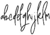 Awestruck Signature Font otf (400) Font LOWERCASE