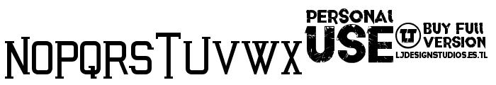 Awakened Font UPPERCASE