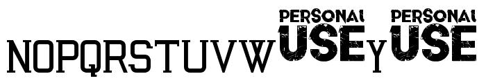 Awakened Font LOWERCASE