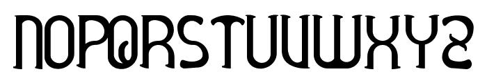 Awelita Font UPPERCASE