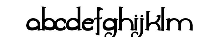 Awelita Font LOWERCASE