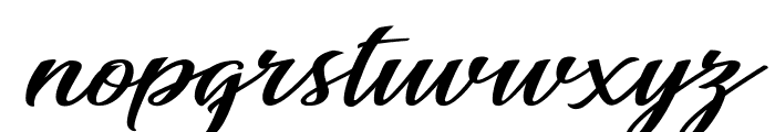 Awesome Season Personal Use Regular Font LOWERCASE