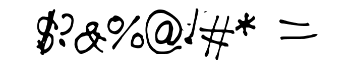 AwesomeFont Font OTHER CHARS