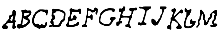 AwesomeFont Font UPPERCASE