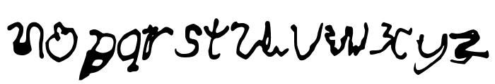 AwesomeFont Font LOWERCASE