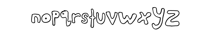 AwesomeStyle Font LOWERCASE