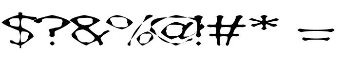 AwlScrawl Font OTHER CHARS