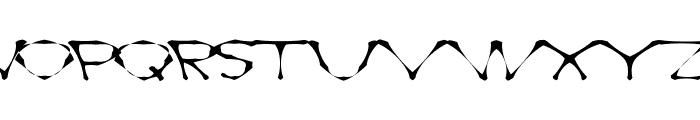 AwlScrawl Font UPPERCASE