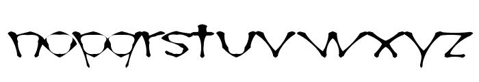 AwlScrawl Font LOWERCASE