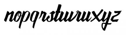 Awesome Display Typefaces Regular Font LOWERCASE