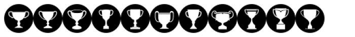 Awardos Inverse Font LOWERCASE