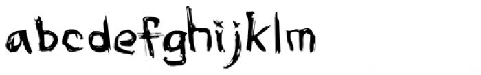 Awe Font LOWERCASE