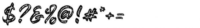 Awesome Journey Regular Font OTHER CHARS
