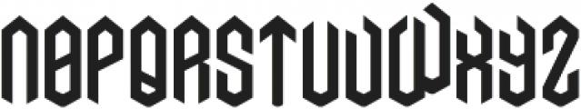 AXE ttf (400) Font UPPERCASE
