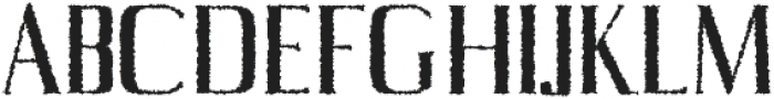 Axell Distorted otf (400) Font UPPERCASE