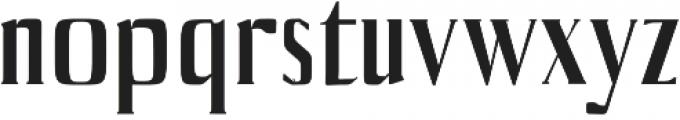 Axell Medium otf (500) Font LOWERCASE