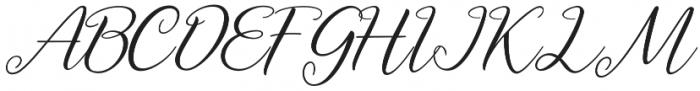 Axellaria otf (400) Font UPPERCASE