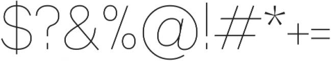 Axiom Sans otf (400) Font OTHER CHARS