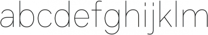 Axiom Sans otf (400) Font LOWERCASE